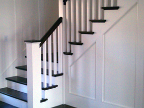 stairwell woodworking